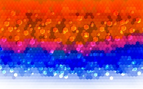 Picture mosaic, abstraction, colorful