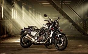 Picture light, garage, Yamaha V max, VMX 17.2014