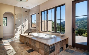 Picture bath, interior, home, luxury, bathroom