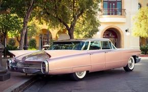 Picture retro, Cadillac, 1960, classic