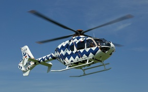 Picture flight, helicopter, eurocopter, EC 135