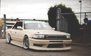 Picture Toyota, Race, Legend, Old, JDM, Cresta