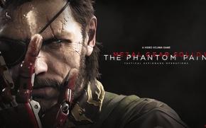 Picture face, hand, soldiers, headband, male, snake, prosthesis, mercenary, Metal Gear Solid, konami, scars, Jack, Kojima …