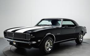 Picture retro, Chevrolet, muscle car, camaro, chevrolet, muscle car, 1968, Camaro, z28