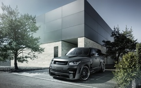 Picture tuning, Land Rover, Range Rover, Hamann, tuning, the front, Mystere