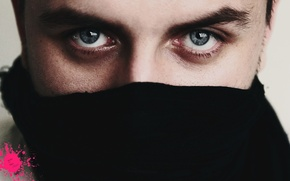 Picture eyes, blue, eyes, macho, handsome, the eyes