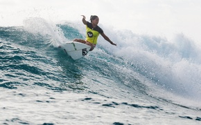 Picture wave, surfing, surfing, surfer