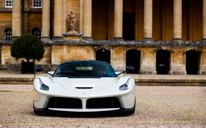 Picture White, Ferrari, Ferrari, LaFerrari, FAS