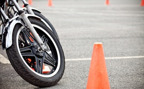 Picture motorcycle, wheel, training