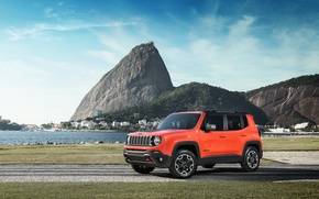 Picture jeep, Jeep, Trailhawk, 2015, Renegade, BR-spec, renegade