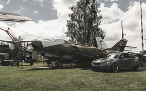Picture the plane, bmw, BMW