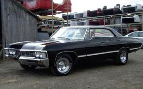 Picture Chevrolet, Baby, Supernatural, 1967, Impala, Original, Sale, Serial