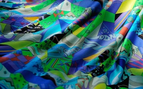 Picture color, folds, textiles, silk, Shine, fabric