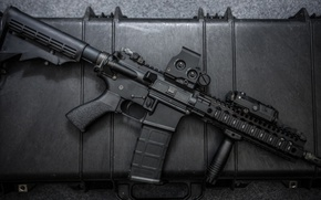 Picture metal, assault rifle, automatic rifle