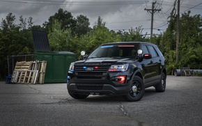 Wallpaper Ford, Explorer, Explorer, Police, Ford