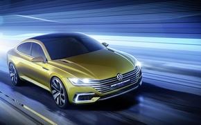 Picture GTE, 2015, Coupe, sport, Volkswagen, Volkswagen, Sport, coupe, Concept
