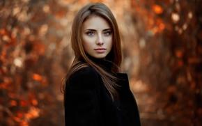 Picture look, portrait, Nataly, natural light, Autumn portrait