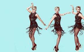 Picture dance, Scarlett Johansson, Scarlett Johansson, photoshoot, 2015, Saturday Night Live