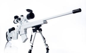 Picture white, weapons, optics, rifle, sniper, Mosin