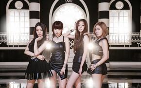 Picture music, girls, brunette, Asian girls, Secret, South Korea, k-pop