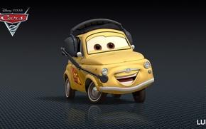 Picture cartoon, cars, pixar, disney, luigi