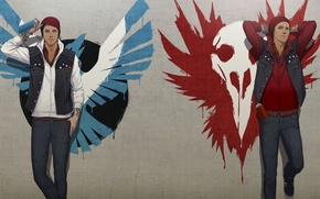 Picture the game, figure, art, art, ps4, infamous second son, delsin Rowe, second son, delsin rowe