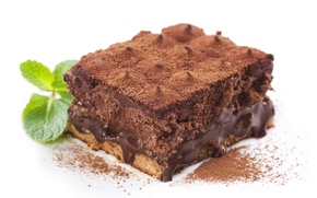Picture chocolate, cake, cake, cream, dessert, cakes, sweet