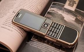 Wallpaper Retro, Phone, Nokia, Nokia 8800, Nokia, Arte, Rose Gold