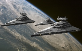 Picture space, planet, Star Wars, Star wars, Imperial star destroyer