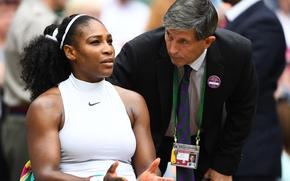 Picture woman, sportswear, Serena Williams, tennis player