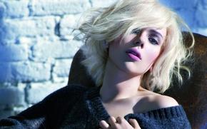 Wallpaper blonde, actress, Scarlett Johansson, model