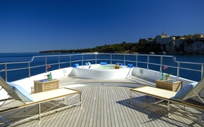 Picture design, style, interior, yacht, deck, Suite, luxury motor yacht