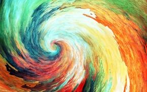 Picture color, figure, multicolor
