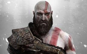 Picture Kratos, God of War, Kratos, Sony Santa Monica, God of War (PS4)