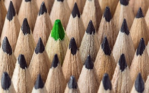 Picture macro, background, pencils