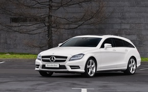 Picture CLS, Mercedes, Mercedes, Benz, Shooting, Before, Brake, Benz