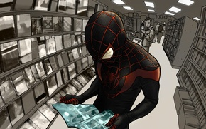 Picture costume, superhero, Marvel Comics, Spider-Man, Miles Morales, Ultimate Spider-Man