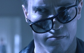 Picture face, the film, Wallpaper, terminator, glasses, Arnold Schwarzenegger, arnold schwarzenegger, terminator