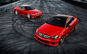 Picture car, tuning, coupe, mercedes, sedan, Mercedes, tuning, rechange, C350, E350