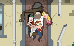 Picture hunger, American Dad, American Dad
