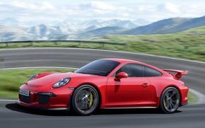 Picture Porsche, supercar, GT3