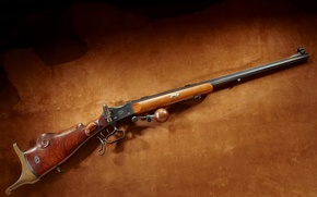 Picture metal, weapons, background, box, steel, shadow, leather, lighting, trunk, Martini, hunting, the gun, brown, rifle, …