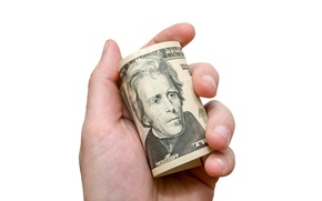 Picture money, dollar, hand
