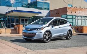 Picture Chevrolet, Car, Silver, Bolt, 2017, EV