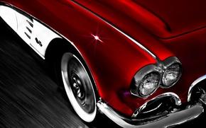 Picture background, Corvette, Chevrolet, Chevrolet, classic, 1962, Corvette