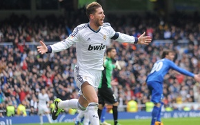 Picture Sport, Football, Football, Real Madrid, Real Madrid, Sergio Ramos