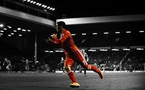 Picture Football, adidas, football, Liverpool, Anfield Road, Luiz Suarez