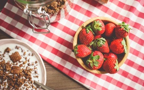 Picture berries, strawberry, red