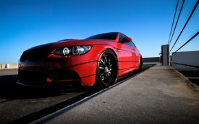 Picture tuning, bmw, BMW, coupe, headlight, red, 3 series