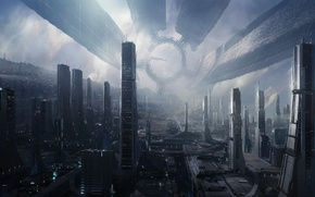 Picture Game, The city, Future, Space